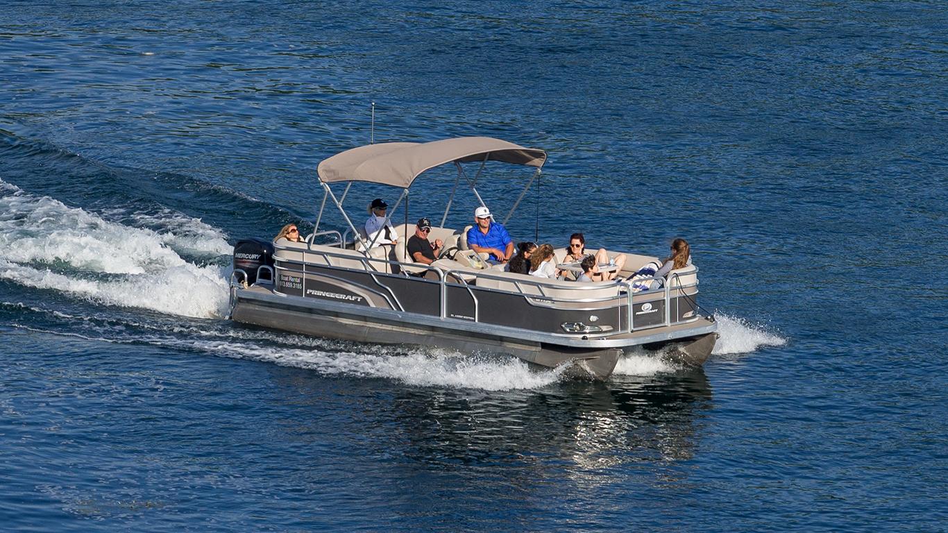 Murrells Inlet Pontoon Boat Rentals
